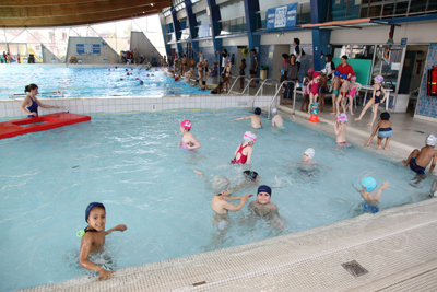 Les piscines dans les hauts de seine - Piscine municipale de courbevoie ...